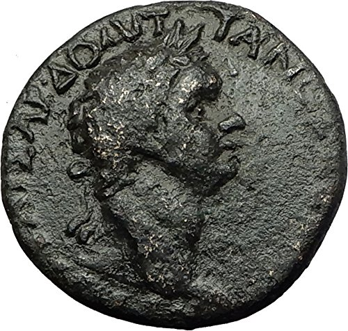 - 81 IT DOMITIAN 81AD Perinthus Thrace DIONYSUS Wine God coin Good