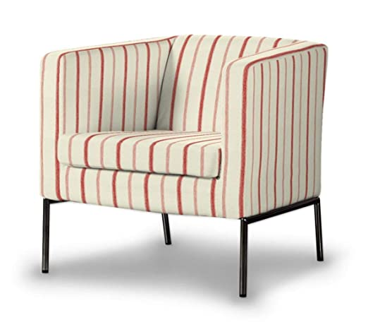 Dekoria Fire retarding IKEA KLAPPSTA sillón Funda Color Rojo ...