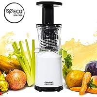 Licuadora para frutas y verduras de prensado en frío, extractor de jugo Cecojuicer Compact de Cecotec.