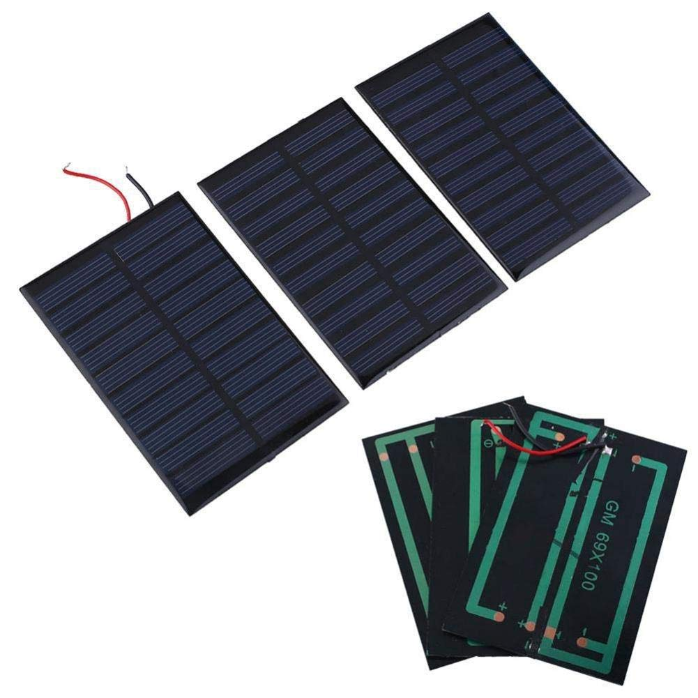 Solar Battery Charger Solar Battery Charger 5V 0.8W 160mA Charging Cell Phones, High Conversion Rate, High Efficiency Output, for Home Lighting by Elec tech (Image #8)