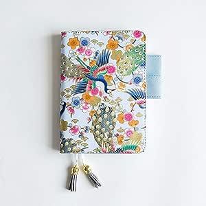 WXWXYS Viajero A6 Lindo Cuaderno de Cuero Diario Plan