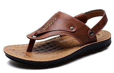 3873235cf6a1 femaroly Flip-Flop Male Slippers Summer Clip Toe Non-Slip Sandals Comfort  Outdoor Beach