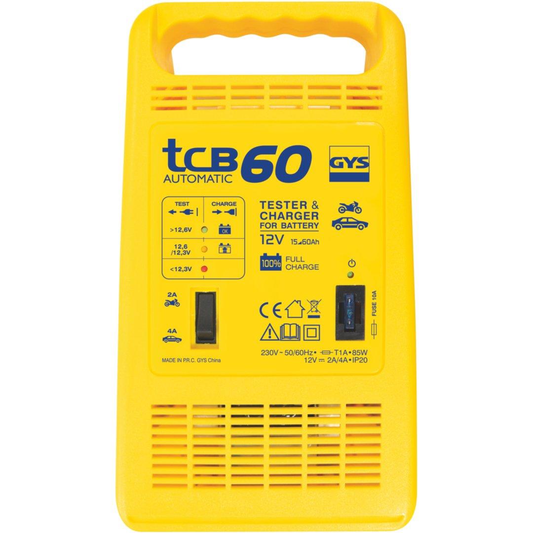 GYS TCB 60 12 V, 15-60 Ah Cargador de bater/ías