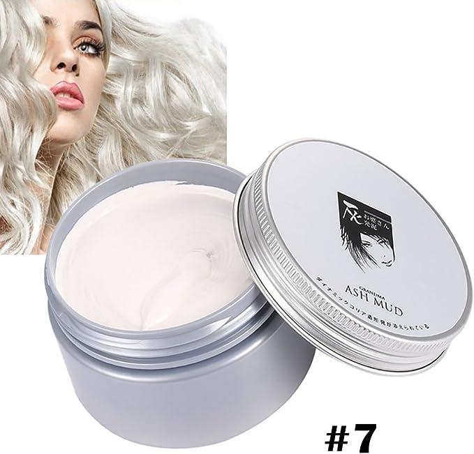 Cutelove Hair Color Cera Desechable Tinte de Pelo Crema de ...