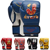 Jayefo Kids Boxing Gloves 4 OZ Training MMA Boys Girls Punching Kick Muay Thai Youth Junior