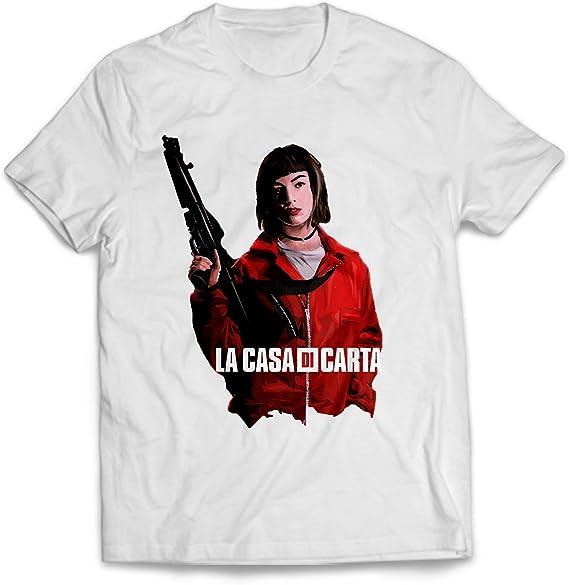 T-Shirt La Casa di Carta Maglietta La Casa de Papel Serie TV