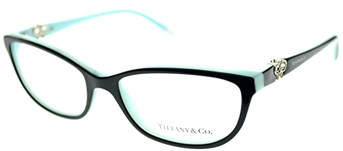 a6778d45ab8 Tiffany   Co. Eyewear Reading Glasses TF 2051B 8055 Black on Azure ...