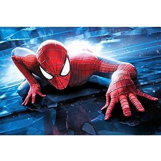 Puzzle ⏰ Fumetti Avengers Spider-Man, Jigsaw Legno, Poster Marvel Superhero, Basswood Perfect Cut & Fit, 300/1000 Pezzi Giocattoli per Fotografia in Scatola Gioco Art Painting per Adulti e Bambini
