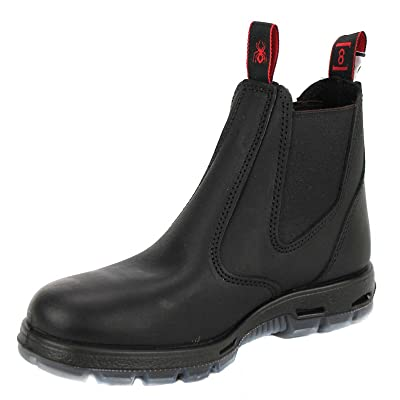 RedbacK UBBK Easy Escape Slip-On Soft Toe Black Boot Size UK8.5 = US9.5: Home Improvement