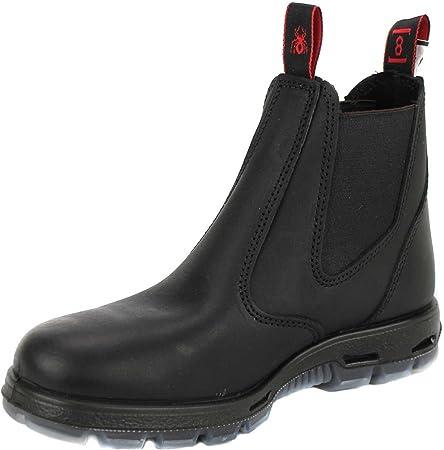 RedbacK Men's Work Boots UBBK Black