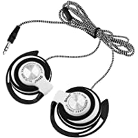 Saniswink1 Przewodowe klipsy na uchu słuchawki sportowe, uniwersalne 3,5 mm wtyczka ciężkie bas słuchawki do uprawiania…