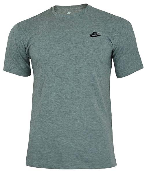 07f1a273d Amazon.com: NIKE Sportswear Men's Club Embroidered Futura Tee: NIKE ...