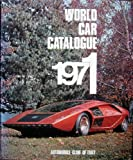 World Car Catalogue, 1971, D'Angelo, 0910714037