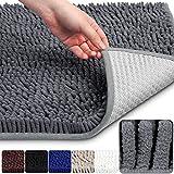Best Rug Bathrooms - Vdomus Non-slip Microfiber Shag Bathroom Mat, 20 x Review
