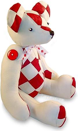 "**EMAIL PDF VERSION** Jingle Bear 13/"" Teddy Bear Sewing Pattern Christmas Teddy"