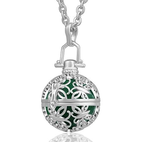 Amazon Aeonslove Silver Retro Chimes Ball Harmony Bell