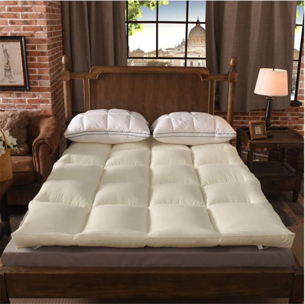 D 180x200cm(71x79inch) Thickening Mattress,10cm Hotel Hotel Comfortable Mattress,Single Double Folding Warm Bed Mattress,Thick futon-D 180x200cm(71x79inch)