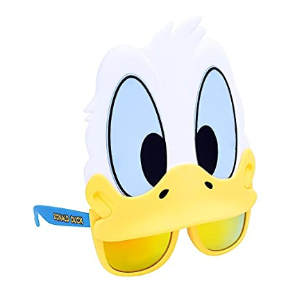 f55edd2cb1cc Image Unavailable. Image not available for. Color  Costume Sunglasses  Donald Duck Sun-Staches ...
