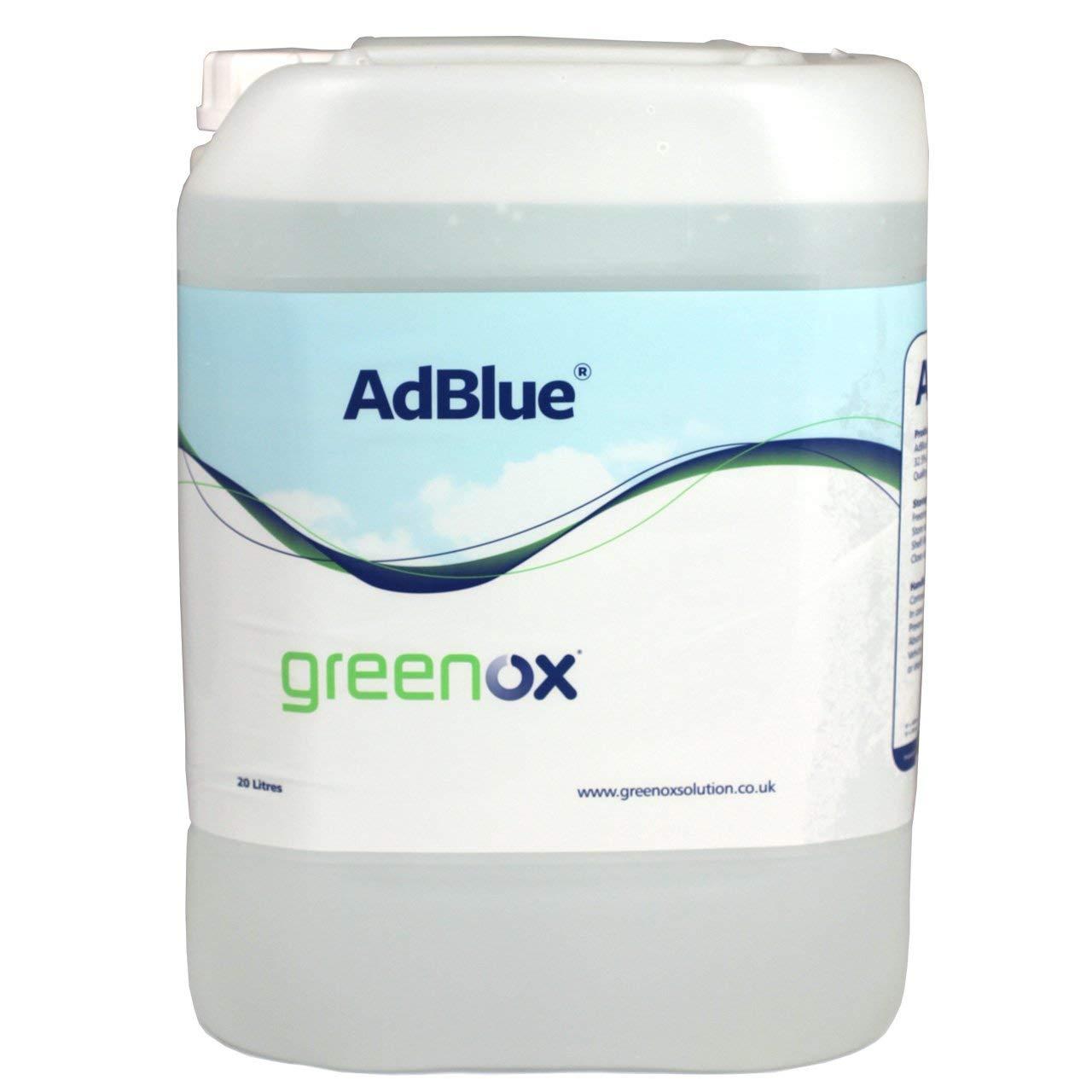 Greenox AdBlue - Solució n de urea para reducir las emisiones de gases de los motores dié sel, 20 litros