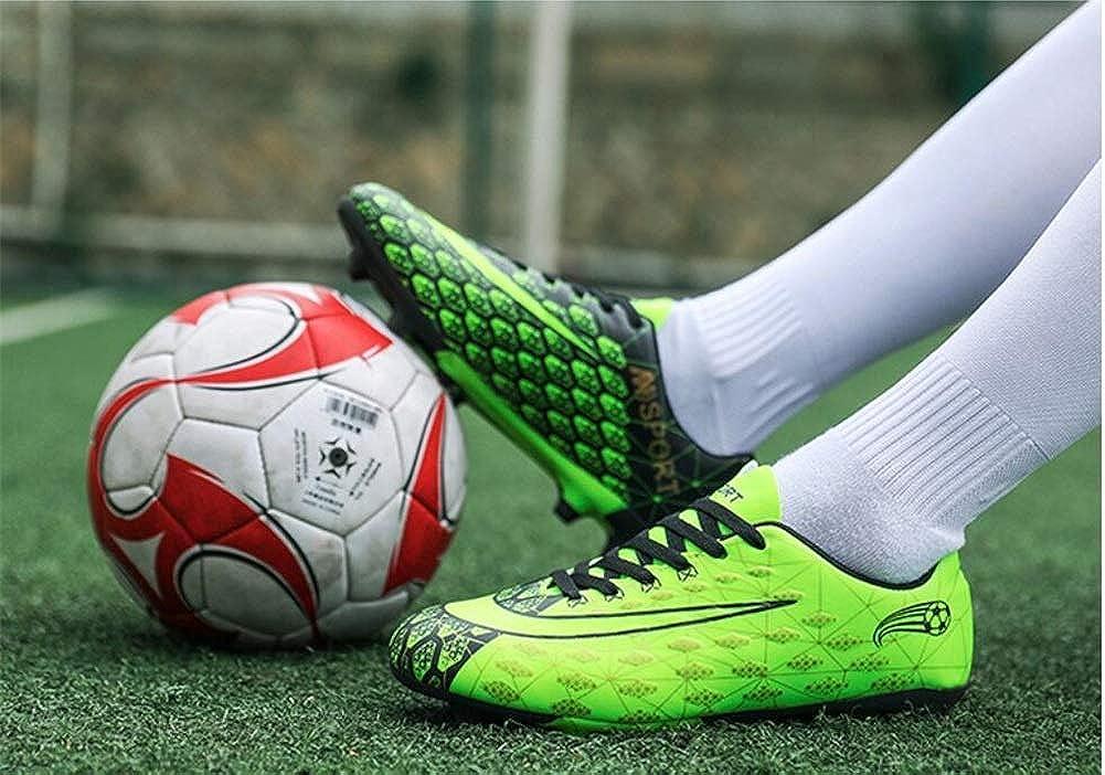 Zapatos De Fútbol Para Amantes/Botines De Fútbol De Cuero Cómodo/Botas De Fútbol Fútbol: Amazon.es: Ropa y accesorios