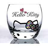 Cute Hello Kitty Wine Glass - Unique Hand Painted Gifts for Women, Men, Wedding, Anniversary, Couples, Engagement,Birthday