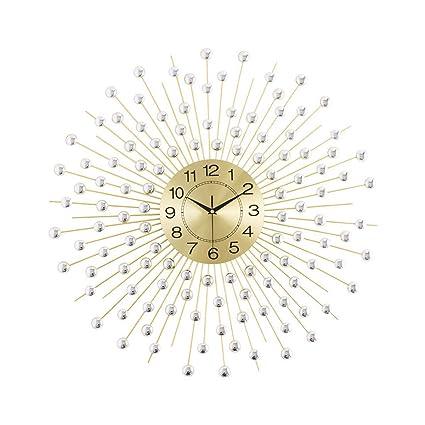 Amazon.com: Reloj de pared de hierro forjado, para mesa ...