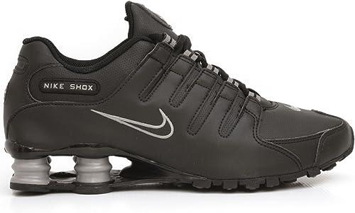 Nike Shox NZ Chaussure de course pour femme, Marron (Noir