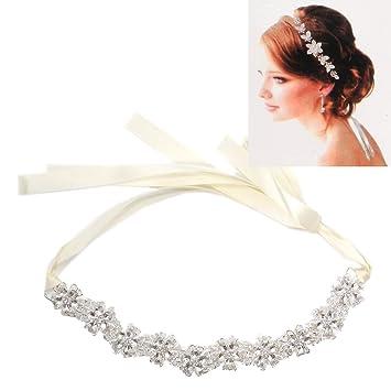 Amazon Com Weddingtopia 6pcs Bridal Luxury Rhinestone Wedding