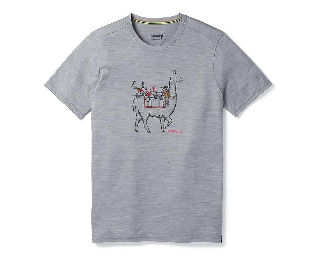 Smartwool Herren Merino Sport 150 Llama Adventures Tee T-Shirt