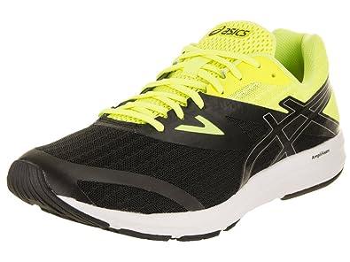 cef1c83b4ab ASICS Men's Amplica Running Shoe Black/Black/White 7 D(M) US: Buy ...