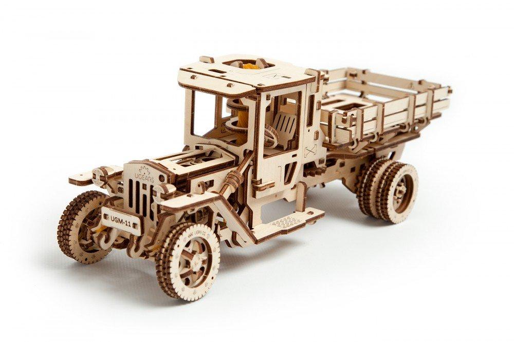 【一部予約!】 トラックモデル 自分で組み立てて B01NBSXGO4、ゴム動力で動く3Dパズル Ugears 日本正規販売 インテリアにも最適 B01NBSXGO4, 信濃町:2fceb697 --- a0267596.xsph.ru