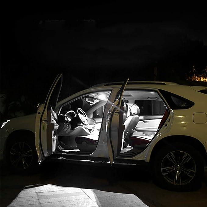 Cobear para Elantra Sonata NF Super Brillante Fuente de luz LED Interior Lámpara de Coche Bombillas de Repuesto Blanco Paquete de 4: Amazon.es: Coche y moto