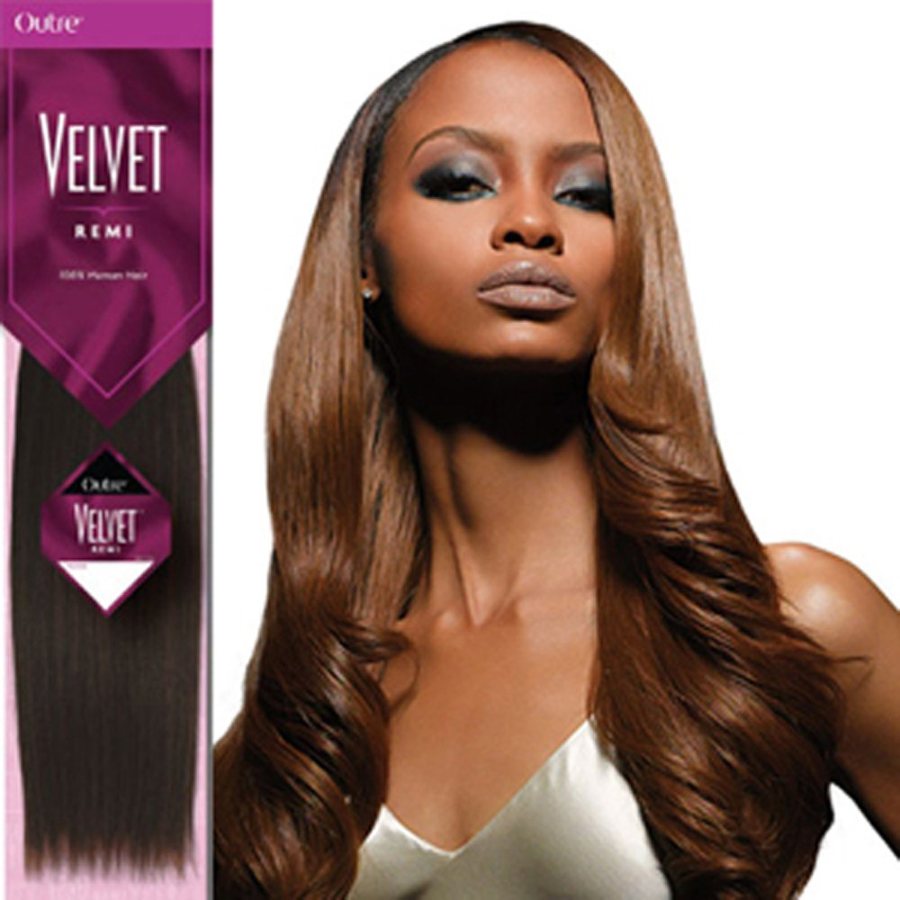 Amazon Outre Velvet 14 Remi Human Hair Extensions Weave Silky