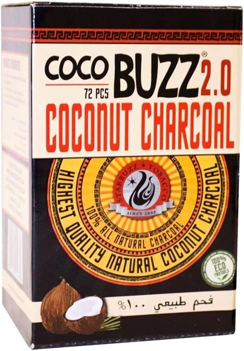 FumandoEspero Starbuzz Cocobuzz 2.0 1kg - Carbón Natural para Shisha