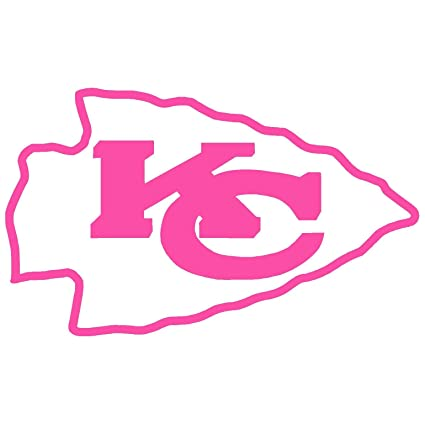 buy online e24fb da72c Amazon.com: KANSAS CITY CHIEFS Vinyl Sticker Decal (2
