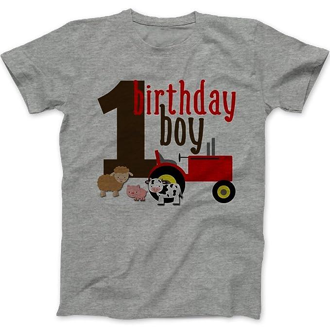 Amazon.com: Primer cumpleaños – Birthday Boy – Camiseta ...