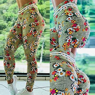 SMILEQ Calzoncillos de Yoga para Damas con Cintura Alta ...