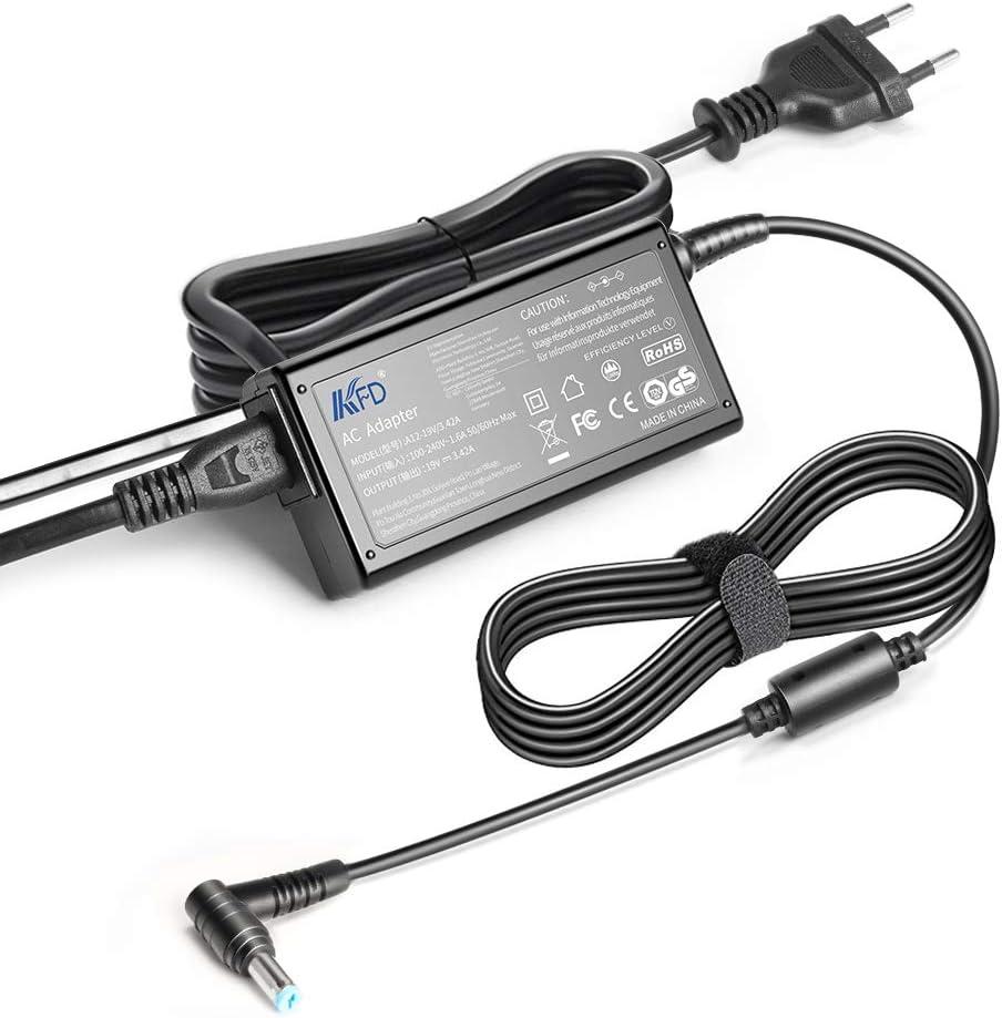 KFD 65W Cargador Portátil Adaptador para Acer Aspire 1 3 5 A515 5735Z 5732Z 5742 5749 V3-571G E15 ZG5 E5-571 ES1 E1-572 E5-573 E1-571 E3 V3 V5 V7 A311 A615 E17 F5