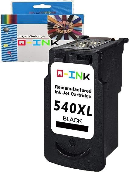 QINK 1PK Reconstruido para Canon PG-540XL Cartucho de Tinta Alta ...