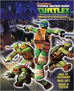 Teenage Mutant Ninja Turtles Wheel Power: Michael Teitelbaum ...