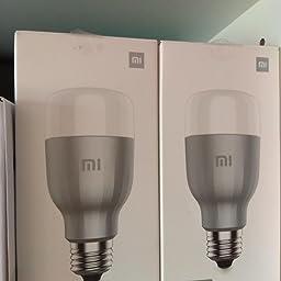 Xiaomi Bombilla de color Mi LED, WiFi (no requiere HUB), compatible con Google Home, Alexa y Apple HomeKit, E27, 10 W, 800 lm: Xiaomi: Amazon.es: Iluminación