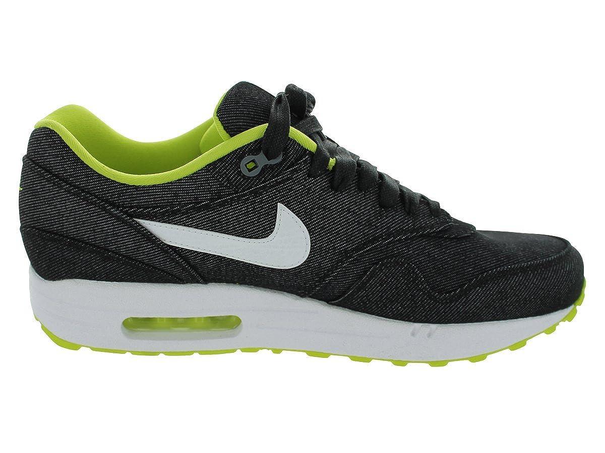 8572283419 Amazon.com | Nike Men's AIR MAX 1 PRM RUNNING SHOES 11.5 Men US (BLACK/WHITE /CYBER/COOL GREY) | Road Running
