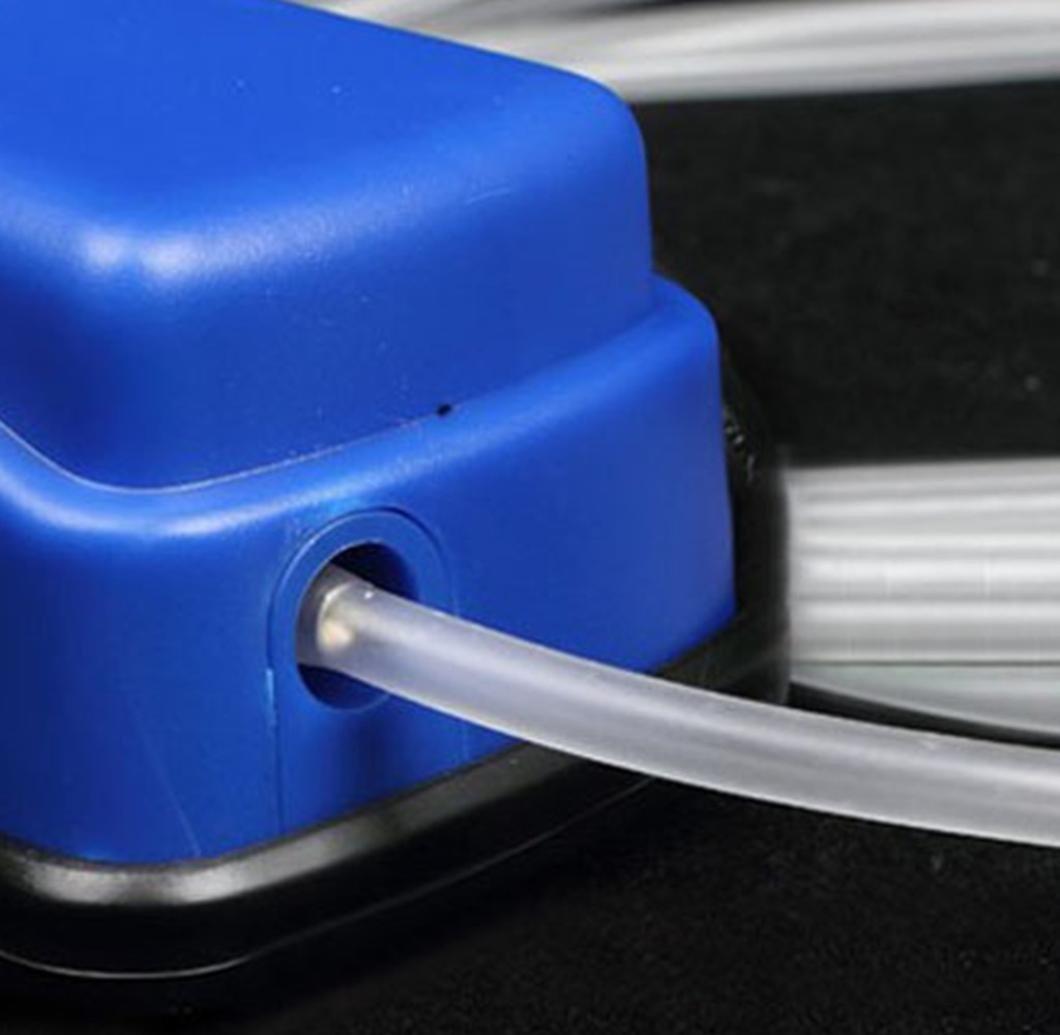 Sauerstoff Stein Aquarium-Pumpe Luftpumpe squarex 4/x 6/mm Schlauch