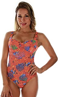 product image for Tan Through Orange Fiji C-D Underwire Tank