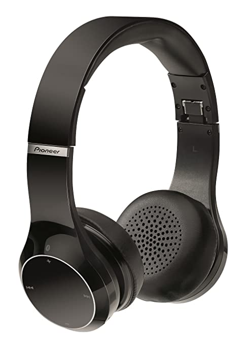 Pioneer SE-MJ771BT-K - Auriculares (microfono, Bluetooth), Negro