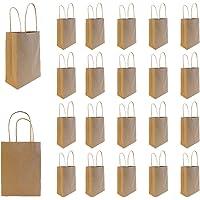 Projects Papieren tas van gerecycled kraftpapier - milieuvriendelijk FSC-certificaat - opvouwbare kleine zakken - Spar…
