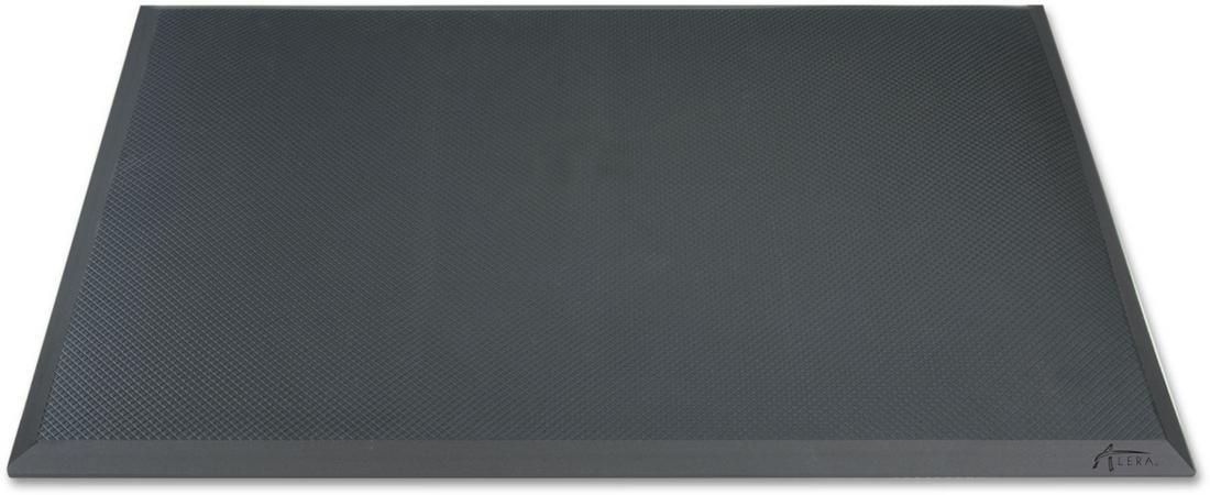 Alera AE23AFM Adaptivergo Anti-Fatigue Mat, 24 X 36, Black