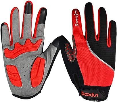Equipo de guantes de bicicleta de tres colores para bicicleta de ...