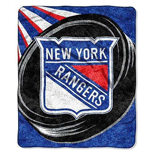 New York Rangers Sherpa Blanket 60'' x 50'' by The Northwest Company