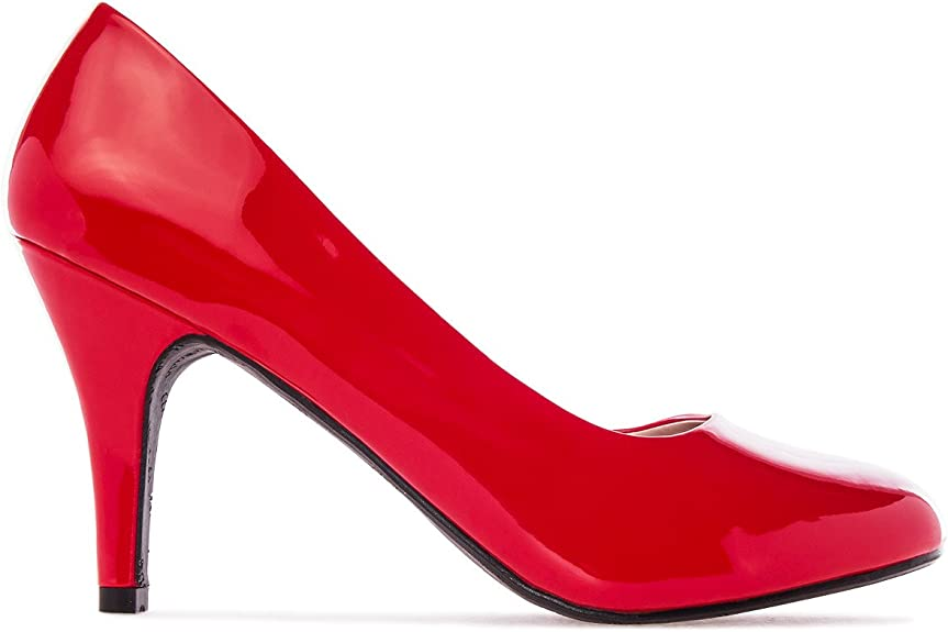 TALLA 32 EU. Andres Machado - Zapatos de tacón para Mujer - tacón de Aguja - ESAM422 - Variedad de Materiales y Colores - Tallas pequeñas, Medianas y Grandes - sin Cordones - Ideal para Todo Tipo de Eventos